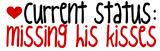 Current Status:missing His Kisses