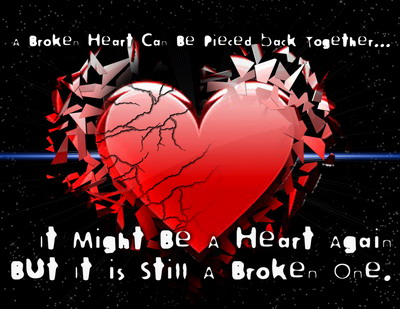 A Broken Heart Can Be Pieced Back Together