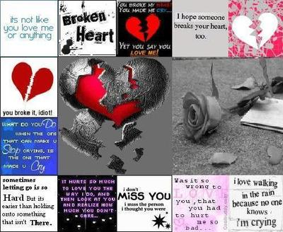 Broken Heart Icons