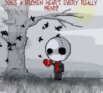 Does A Broken Heart Every Really Mend?