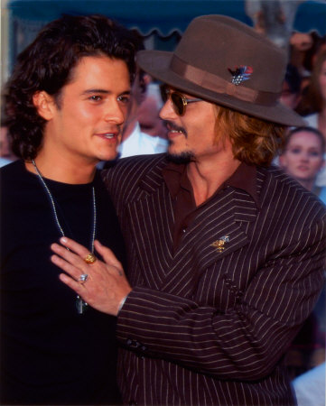 Johnny Depp & Orlando Bloom