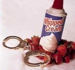 Whipped Cream, Handcuffs, Strawberries