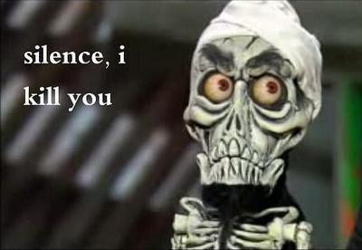 Silence I Kill You