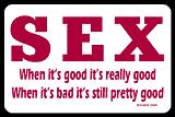 sex is good