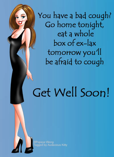 Bad Cough? Get Well