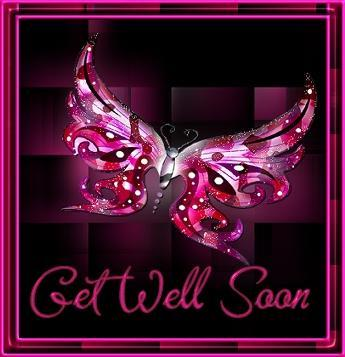 Get Well Soon Butterfly