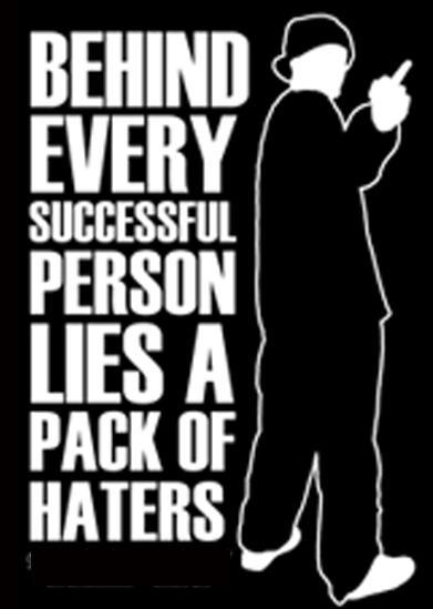Behind Every Successful Person...