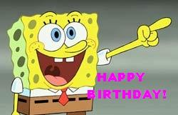 Spongebob Happy Birthday