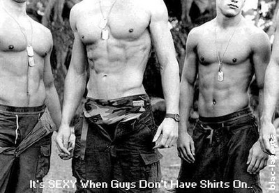 It's Sexy When Guys Don't Have Shirts On