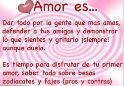 Amore es...