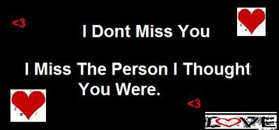 I Dont Miss You