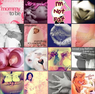 Pregnancy myspace profile layout