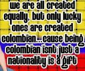 Lucky Ones Are Created Colombian