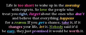 Life Is Too Short To Wake Up In The Morning With R