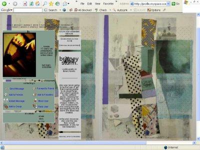 Fabric drawer Myspace Layout
