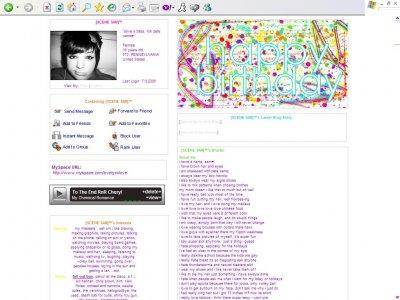 Happy Birthday Myspace Layout