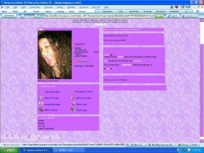 Purple Victorian Myspace Layout